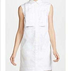 NWT Zac Posen white grant dress size 8